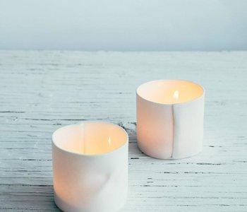 Lanterne médium blanche