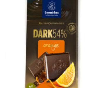 Tablette Léonidas noir orange 100gr