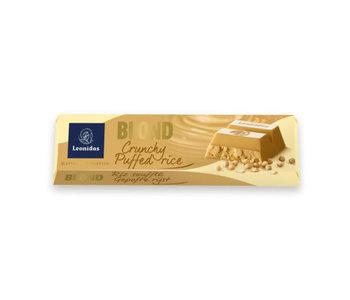Tablette bâton Léonidas blanc riz soufflé 50gr
