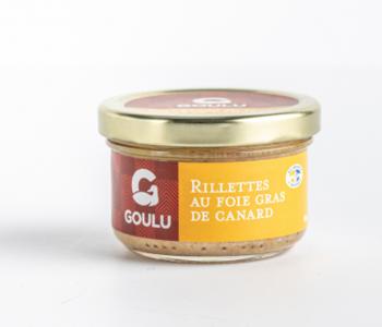 Rillettes de canard au foie gras Goulu