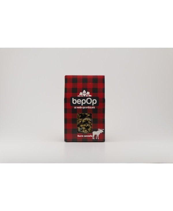 Boîte cadeau popcorn BepOp sucre cannelle