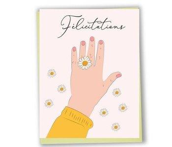 Carte de souhaits- Félicitations