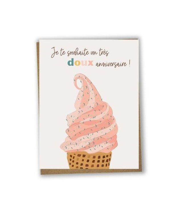 Carte de souhaits Doux anniversaire