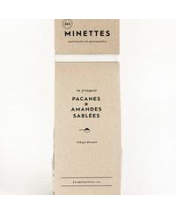 Pacanes & amandes sablées Les Minettes
