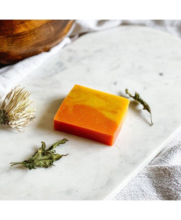 Savons artisanal Mangue et papaye