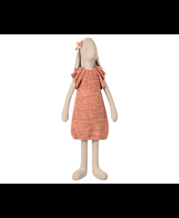 Lapin grandeur 5 robe tricotée