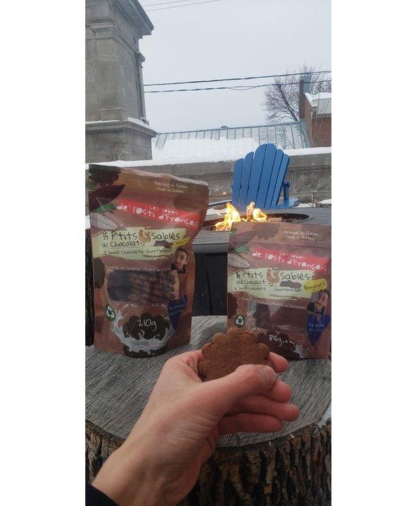 P'tits sablés au chocolat 6 unités