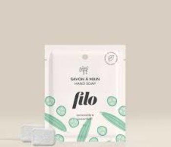 Capsule pour savon à main moussant concombre
