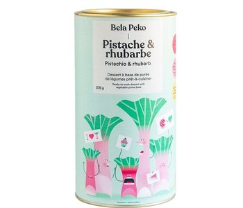 Dessert- Pistache & rhubarbe