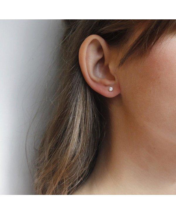 Boucles d'oreilles Les Subtiles 4mm