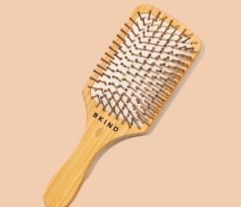 Brosse à cheveux en bambou Bkind