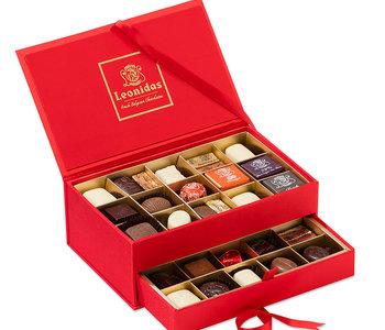 Coffret de chocolats à bijoux Léonidas