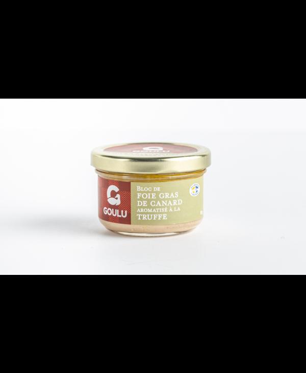 Bloc de foie gras de canard à la truffe Goulu