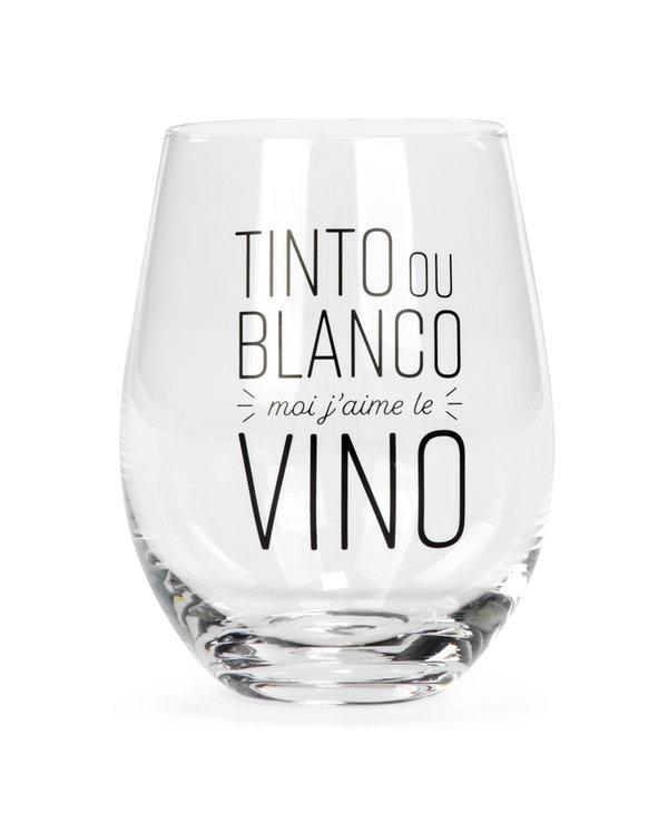Verre à vin sans pied - Tinto ou Blanco
