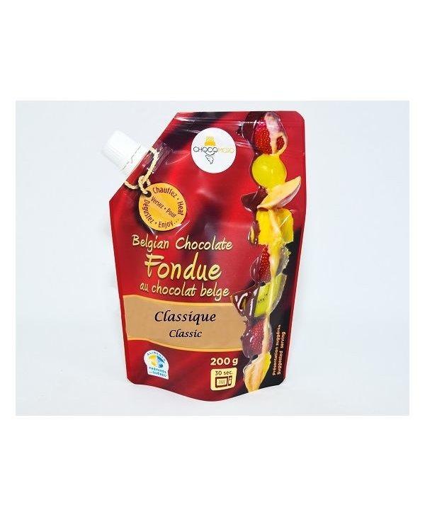 Fondue chocolat belge classique 200gr