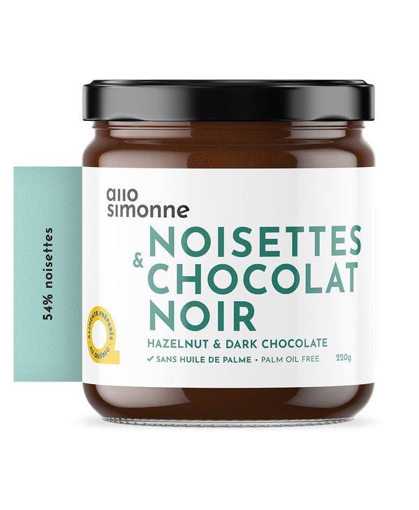 Tartinade noisettes & chocolat noir