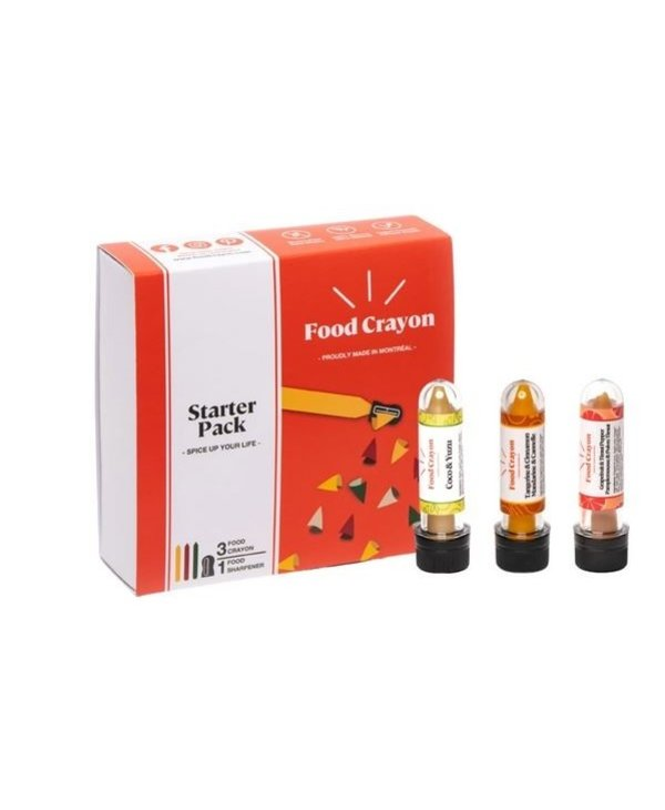 Coffret Tropical Food Crayon- Pamplemousse, mandarine, coco & yuzu