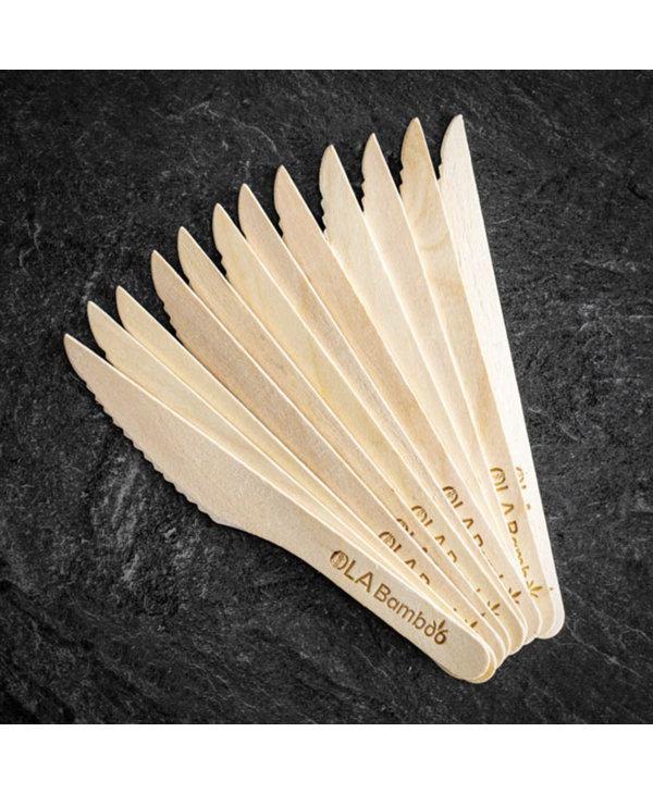 Couteau en bamboo à l'unité