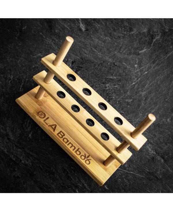 Porte brosses à dents en bamboo