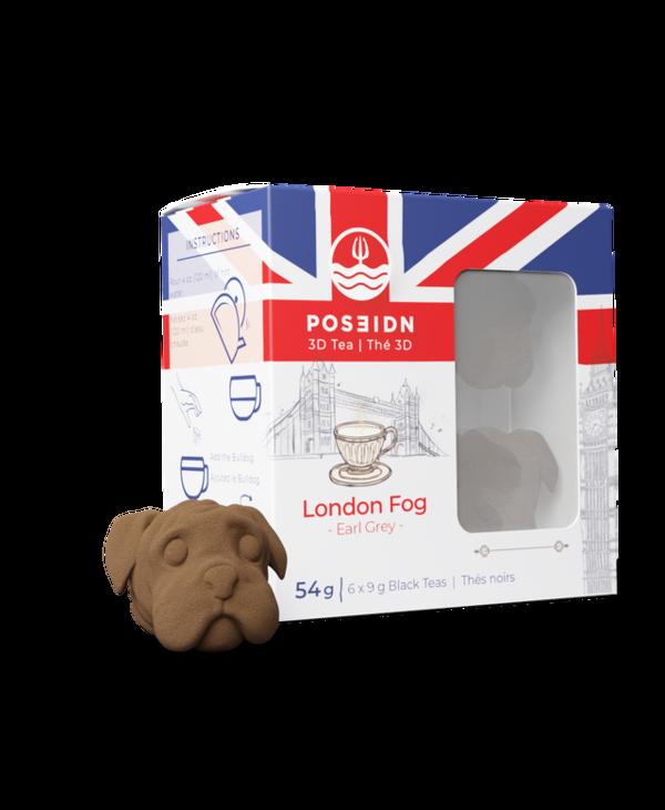Cocktail bombes Poseidon au thé London Fog