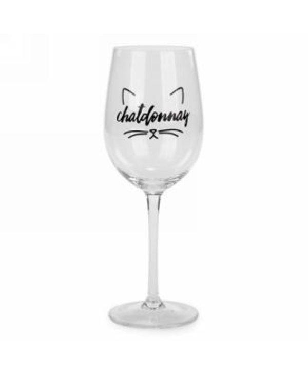 Verre à vin Chatdonnay