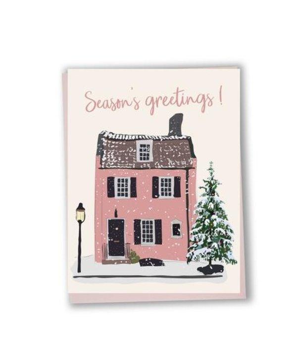 Carte de souhaits Season's greetings!