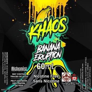 Khaos Khaos Banana Eruption 60ml