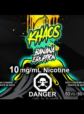 Khaos Khaos Salts Banana Eruption 30ml