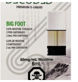 STLTH STLTH Decoded Big Foot Pods (Pack of 3)
