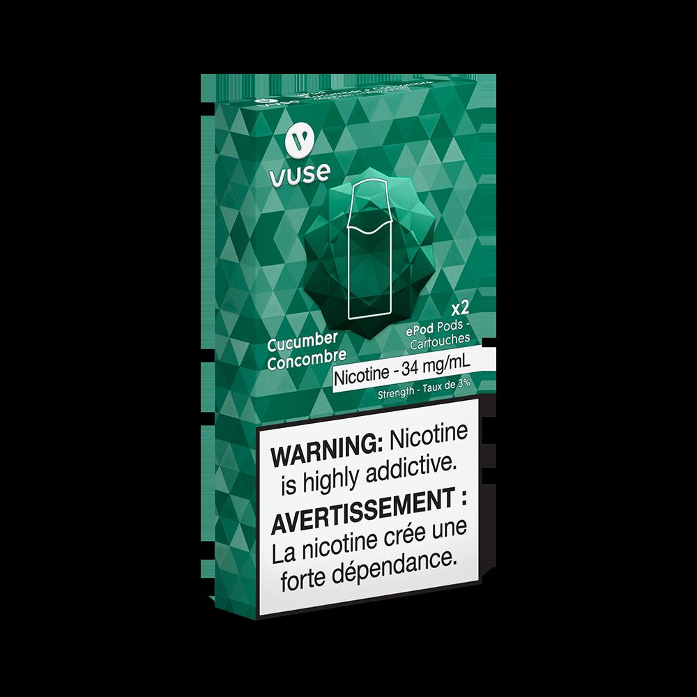 Vuse Vuse Cucumber ePod Cartridge (2 pack)