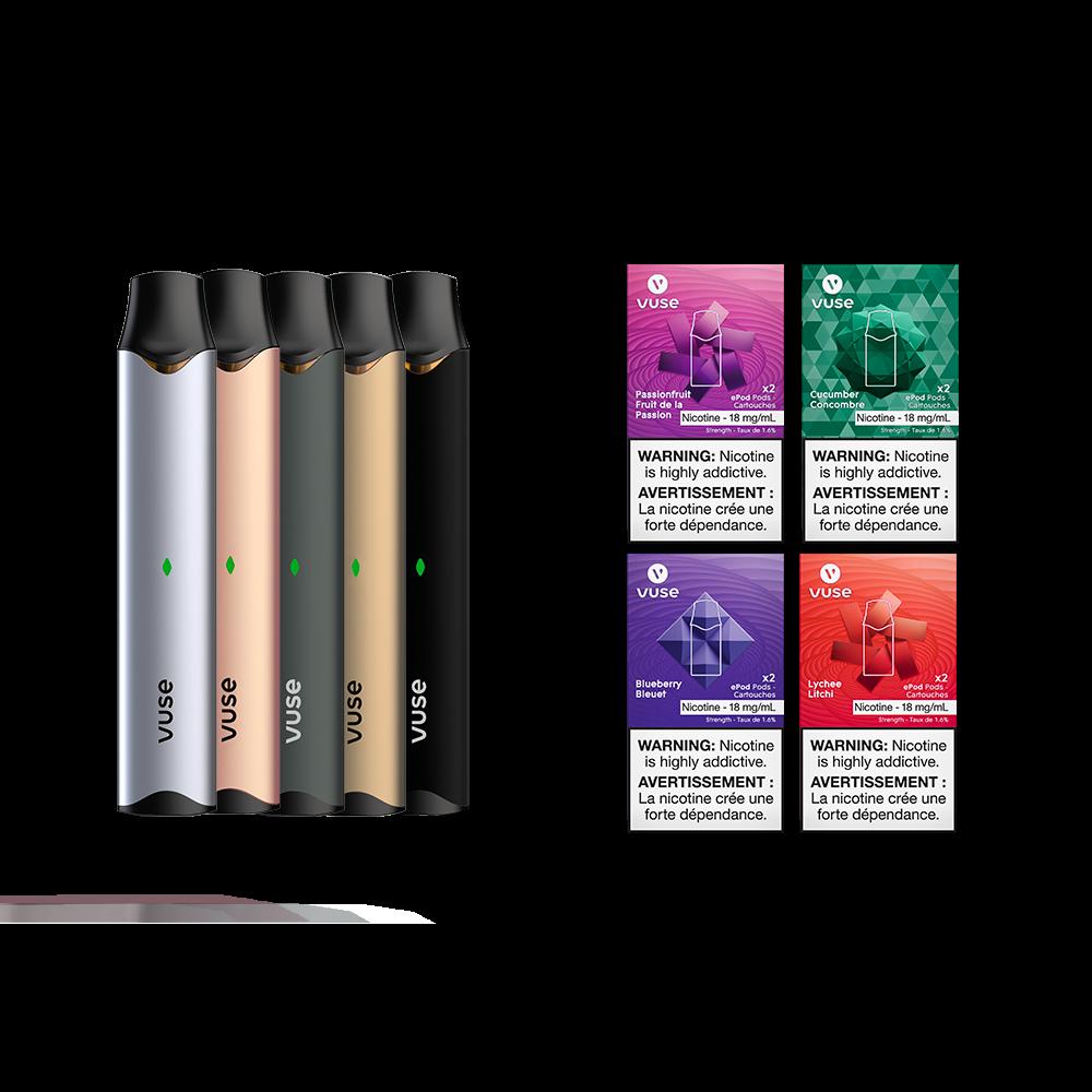 Vuse Vuse Bundle - 1.6% Nicotine