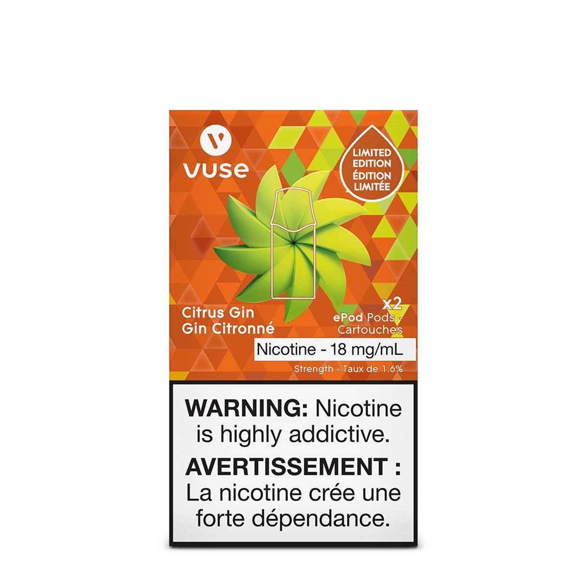 Vuse Vuse Citrus Gin ePod Cartridge (2 pack)
