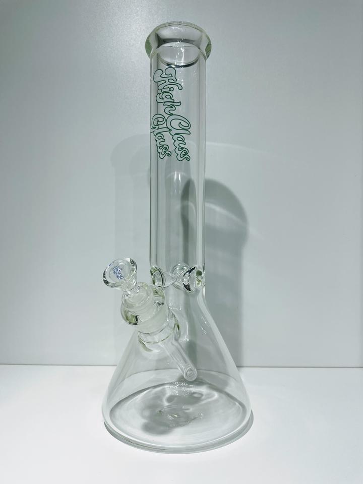 """High Class Glass HCG 14"""" 7mm Logo Beaker"""