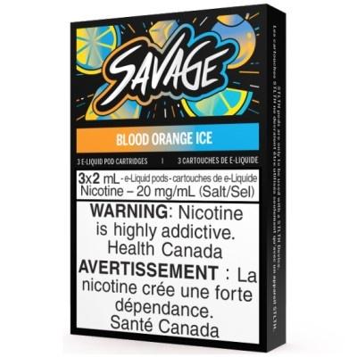 STLTH STLTH Savage Blood Orange Ice Pods (Pack of 3)