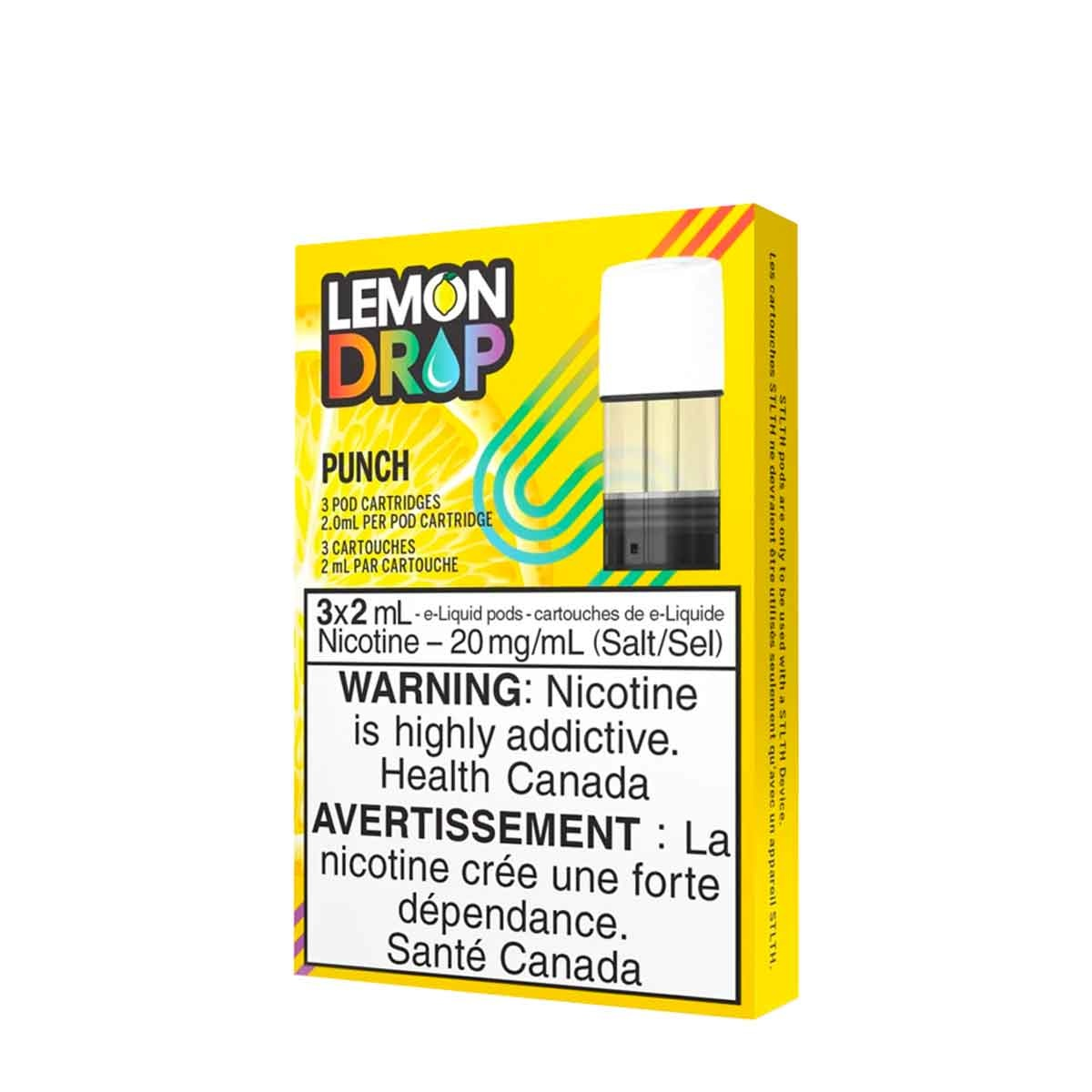 STLTH STLTH Lemon Drop Punch Pods (Pack of 3)