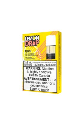 STLTH STLTH Lemon Drop Peach Pods (Pack of 3)
