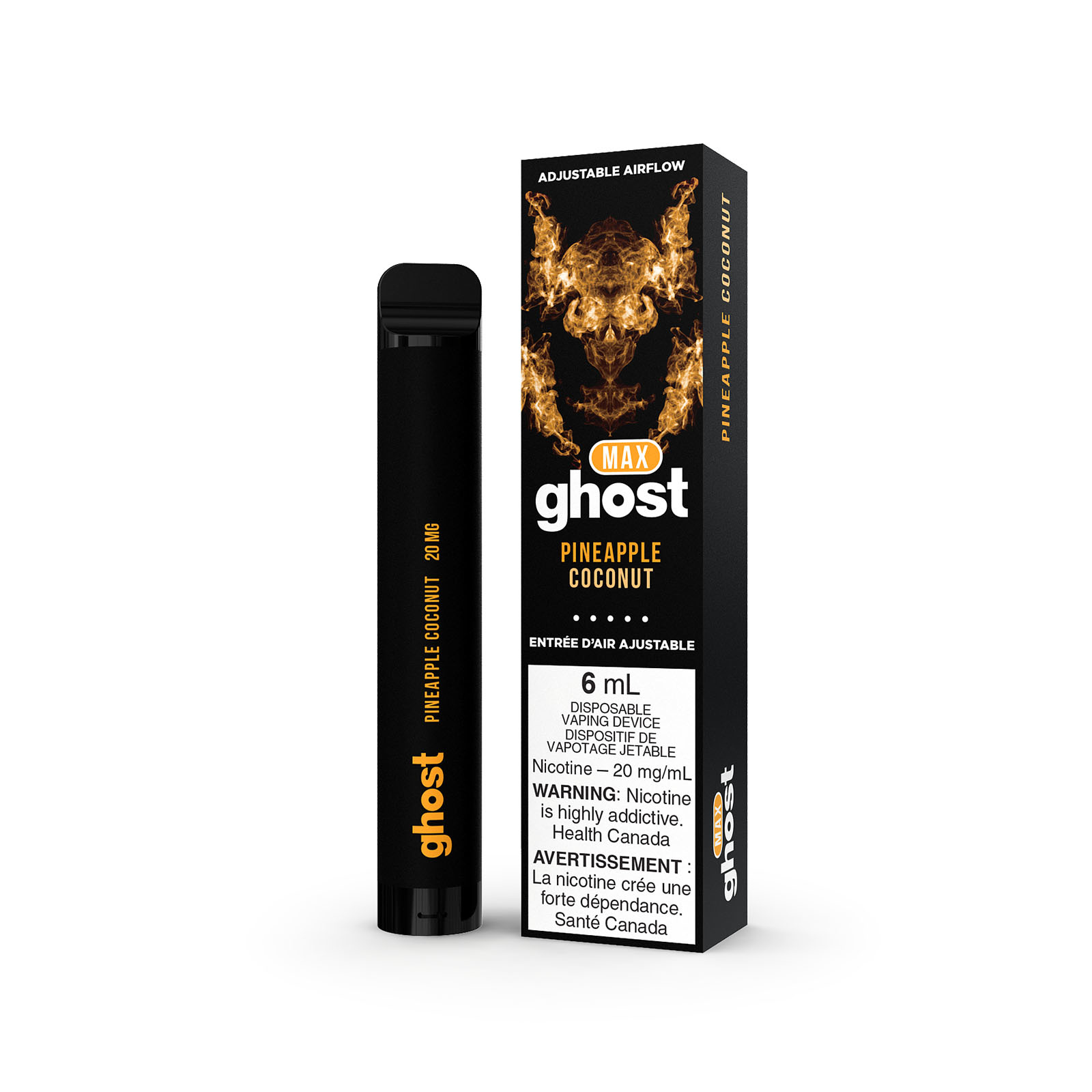 Ghost Ghost Max Pineapple Coconut Disposable Vape