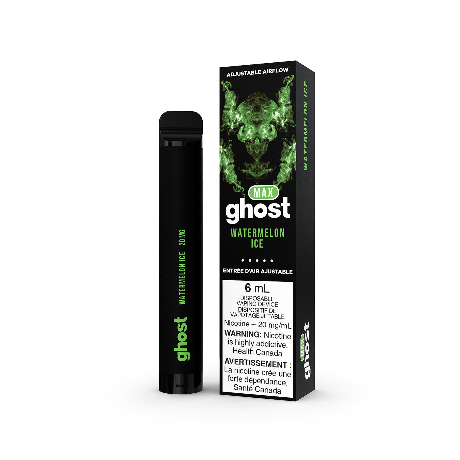 Ghost Ghost Max Watermelon Ice Disposable Vape