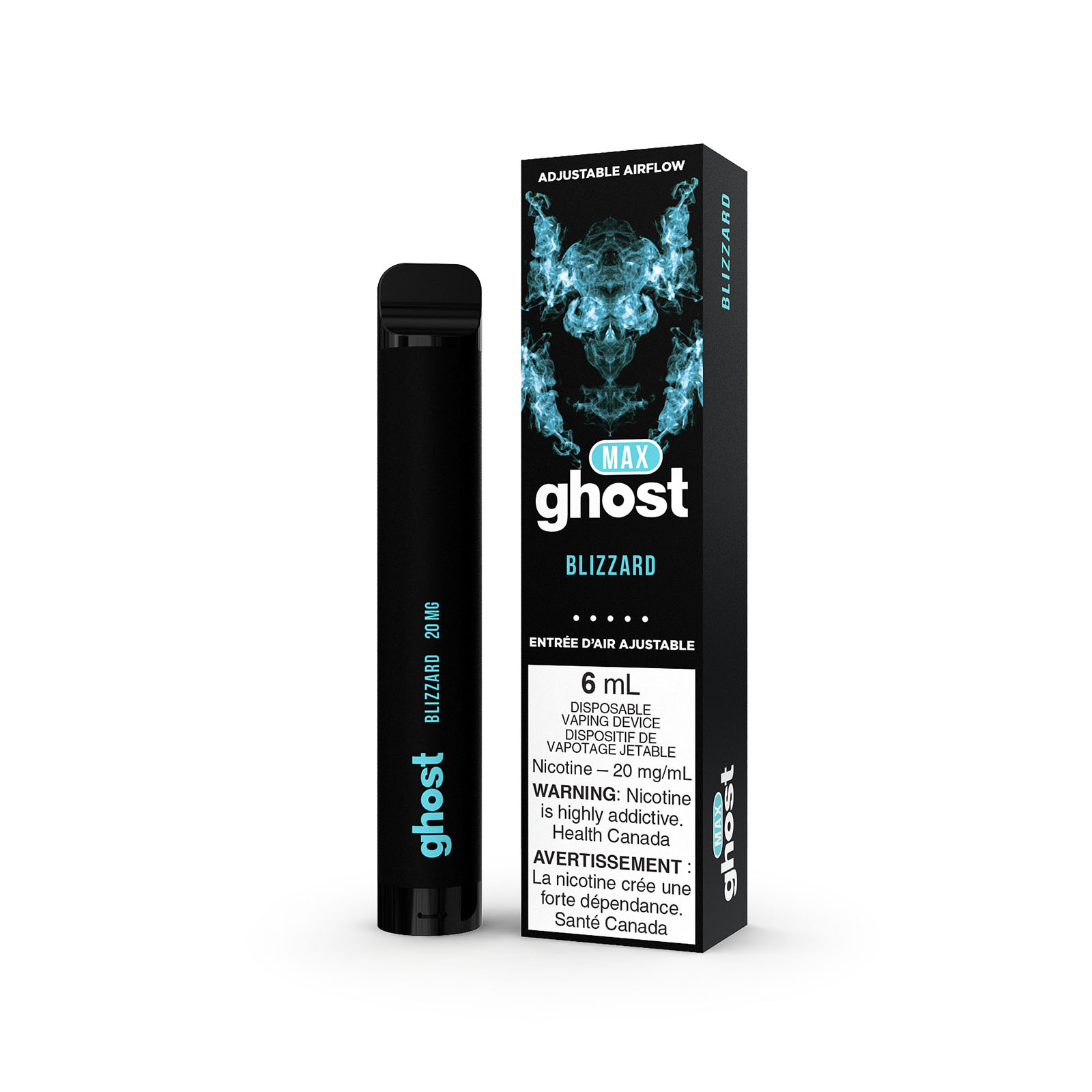 Ghost Ghost Max Blizzard Disposable Vape