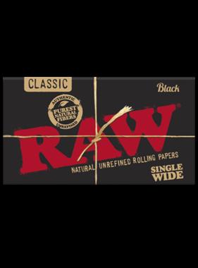 RAW RAW Black SW Double Window Papers
