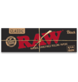 """RAW RAW Black 1-1/4"""" Papers"""