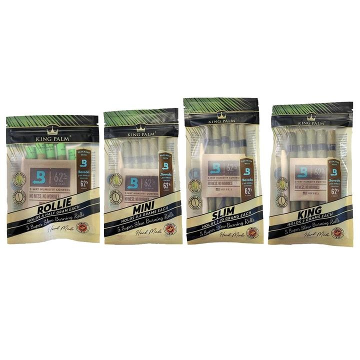 King Palm King Palm Pre-Roll Pouch (Pack of 5)