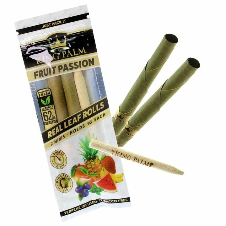 King Palm King Palm Pre-Roll Mini Pouch Flavoured (Pack of 2)
