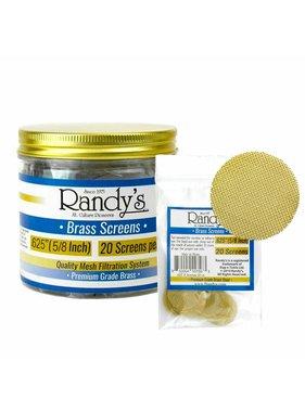 Randy's Randy's Brass Pipe Screens (Pack of 20)