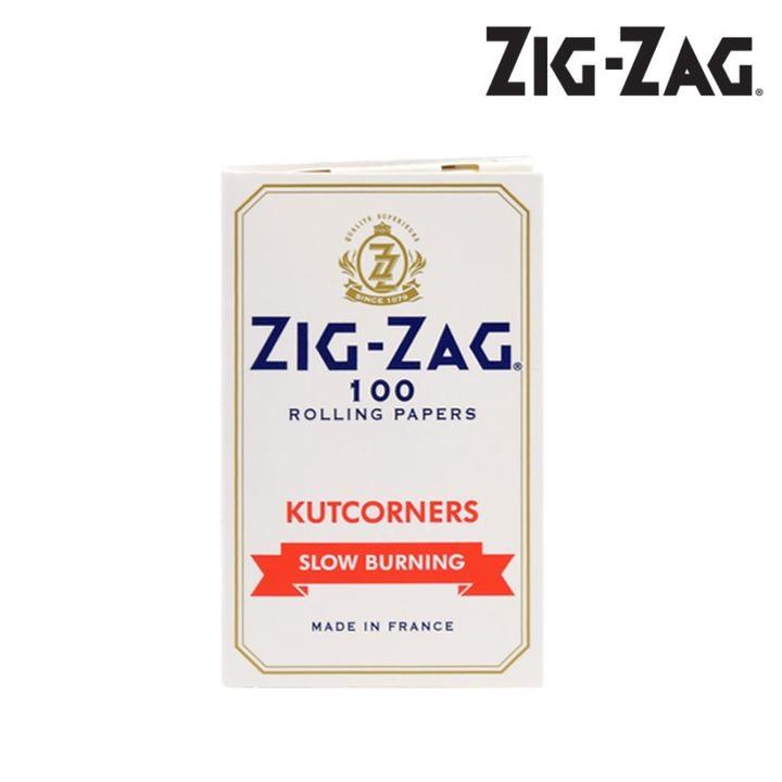 Zig-Zag Zig-Zag White Slow Burning Papers
