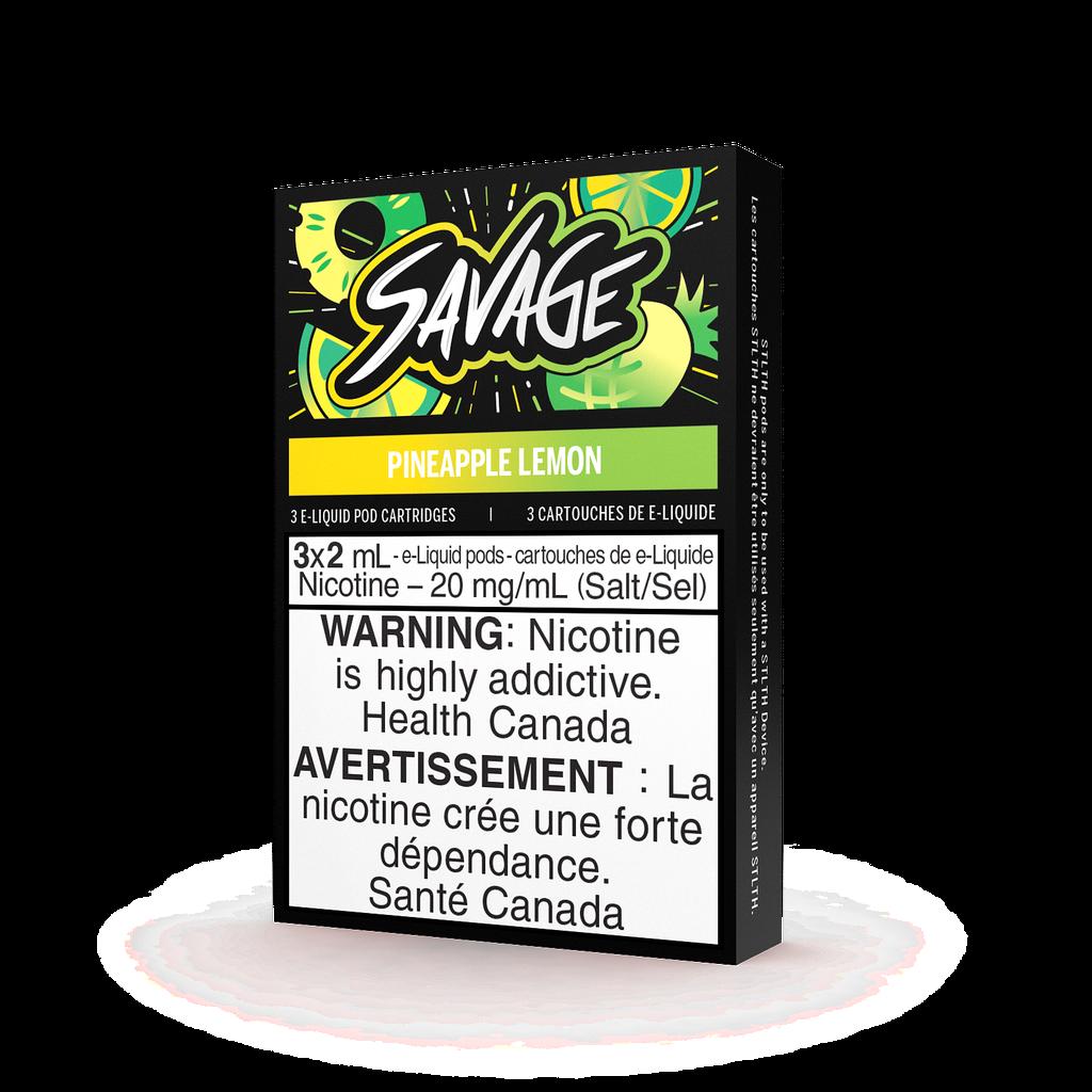 STLTH STLTH Savage Pineapple Lemon Pods (Pack of 3)