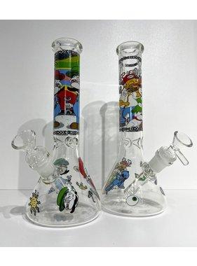 """Pollen Extractors PE 10"""" Cartoon Character Beaker"""