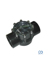 Waterco Waterco Flow Check Valve 180 deg (50/65mm) black