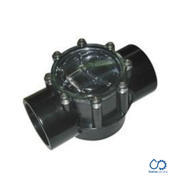 Waterco Waterco Flow Check Valve 180° (50/65mm) black