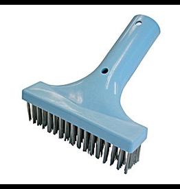 """Waterco Algae Brush 150 mm (6""""), Stainless Steel Bristles"""